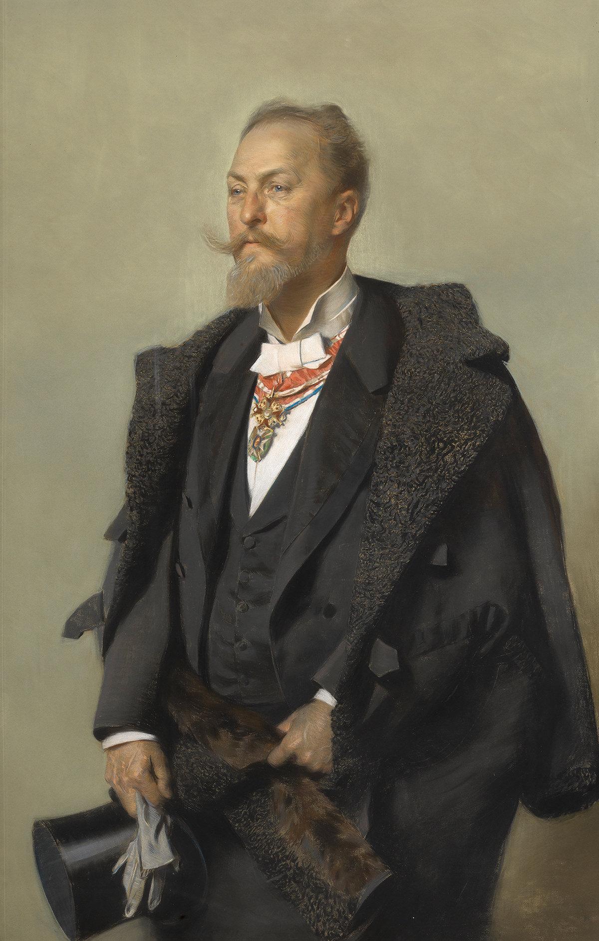 Gottlieb Theodor Kempf von Hartenkamp Otto Wagner,1896 © Wien Museum