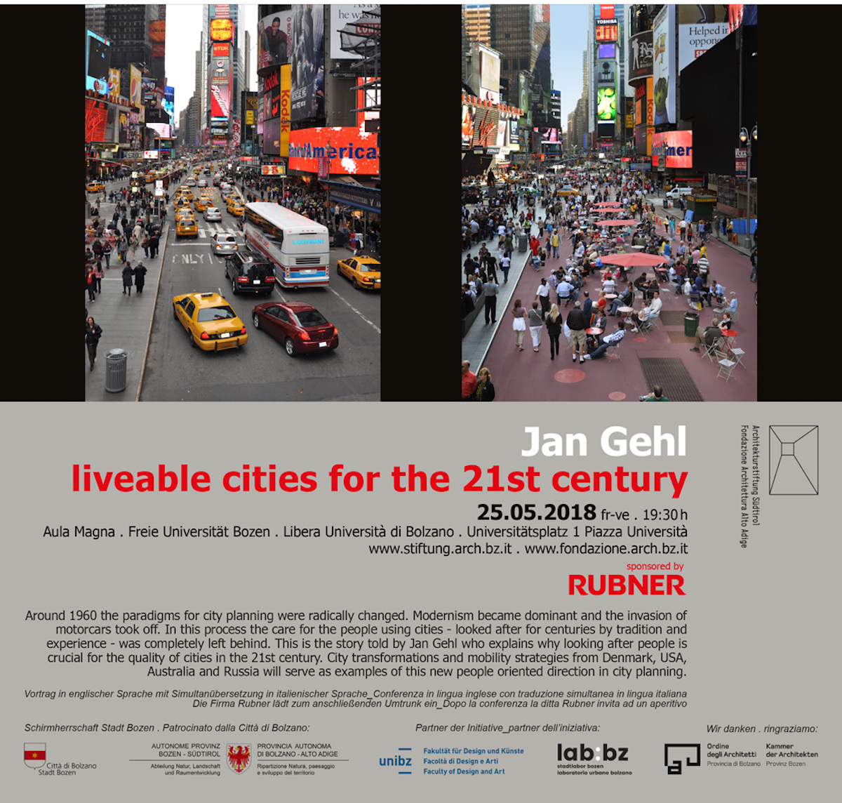 Liveable cities for the 21st century