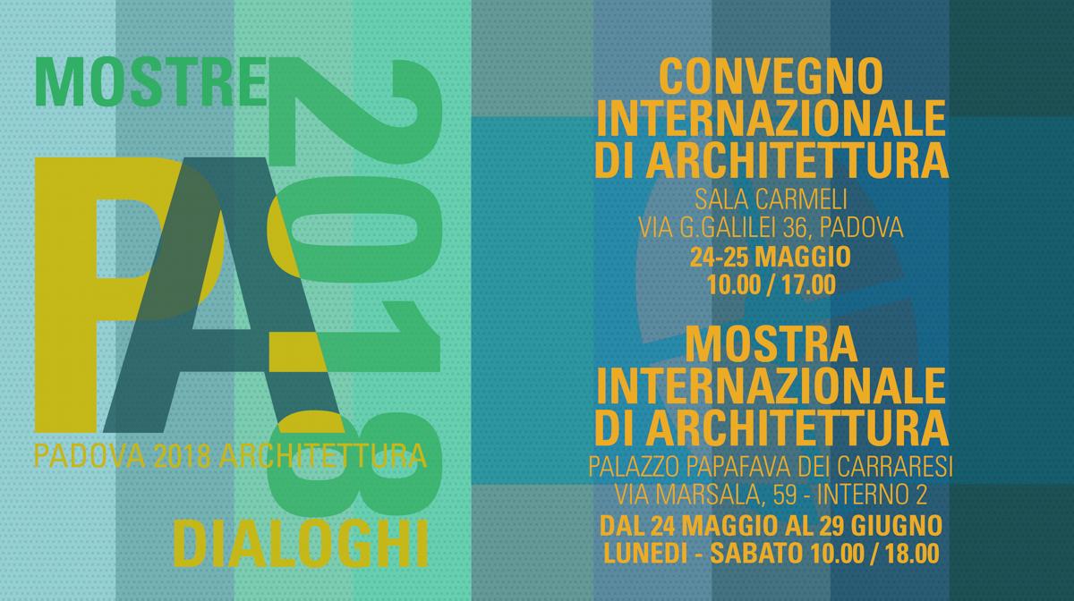 convegno di Padova 2018 architettura
