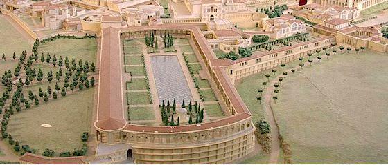 modello della villa Adriana Guilhem06 CC BY-SA 1.0