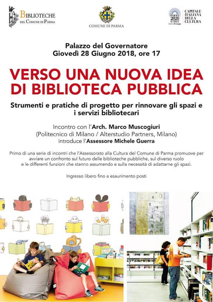 nuova idea di biblioteca pubblica