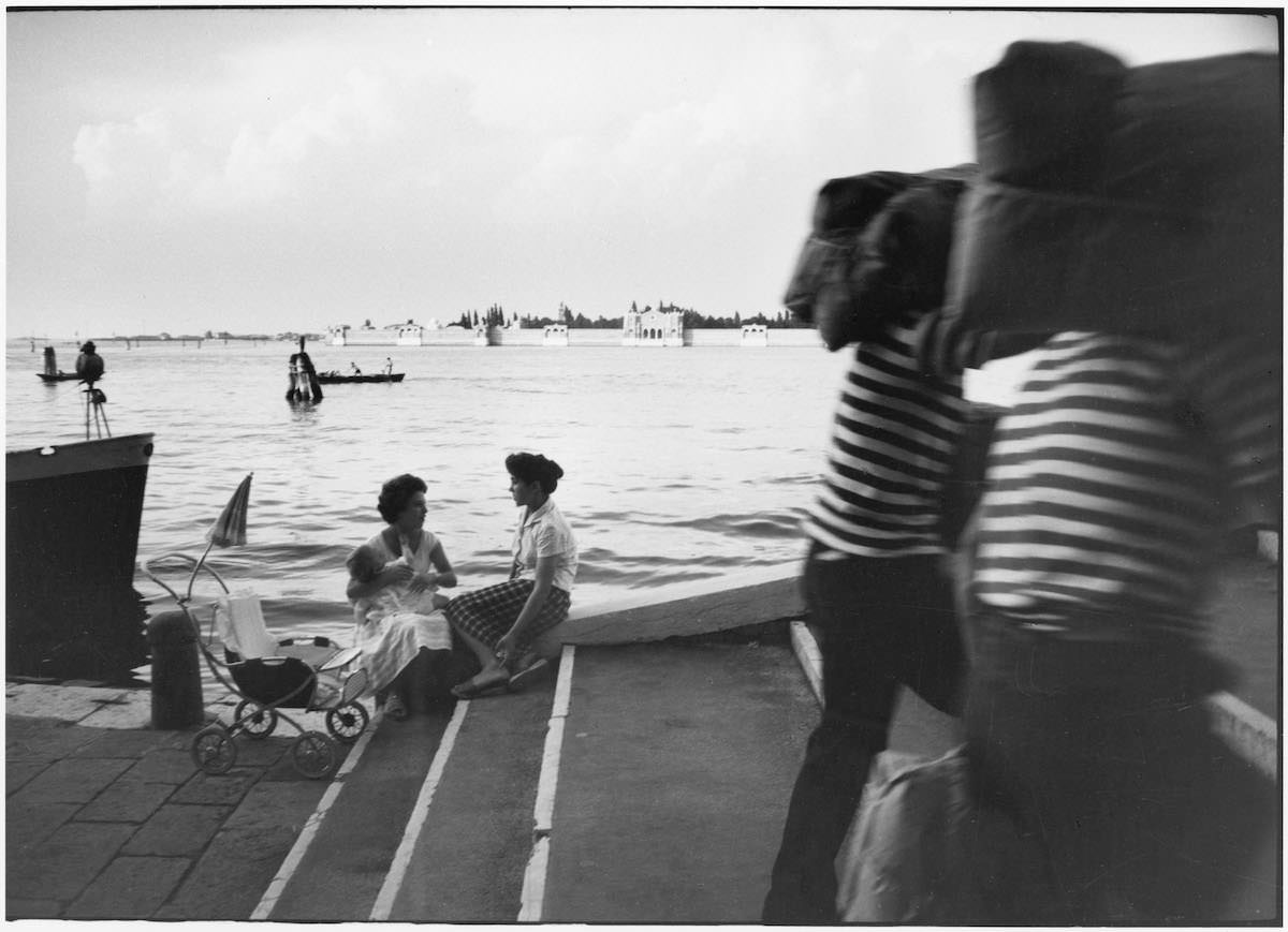 Willy Ronis, Fondamente Nuove, Venise, 1959