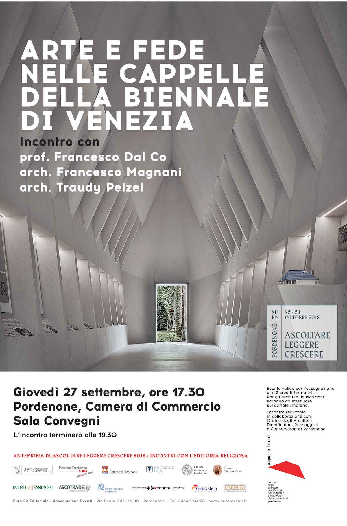 Arte e fede nelle Cappelle della Biennale di Venezia