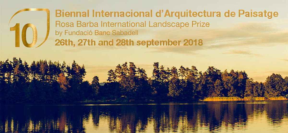 Barcelona Biennial of Landscape Arch