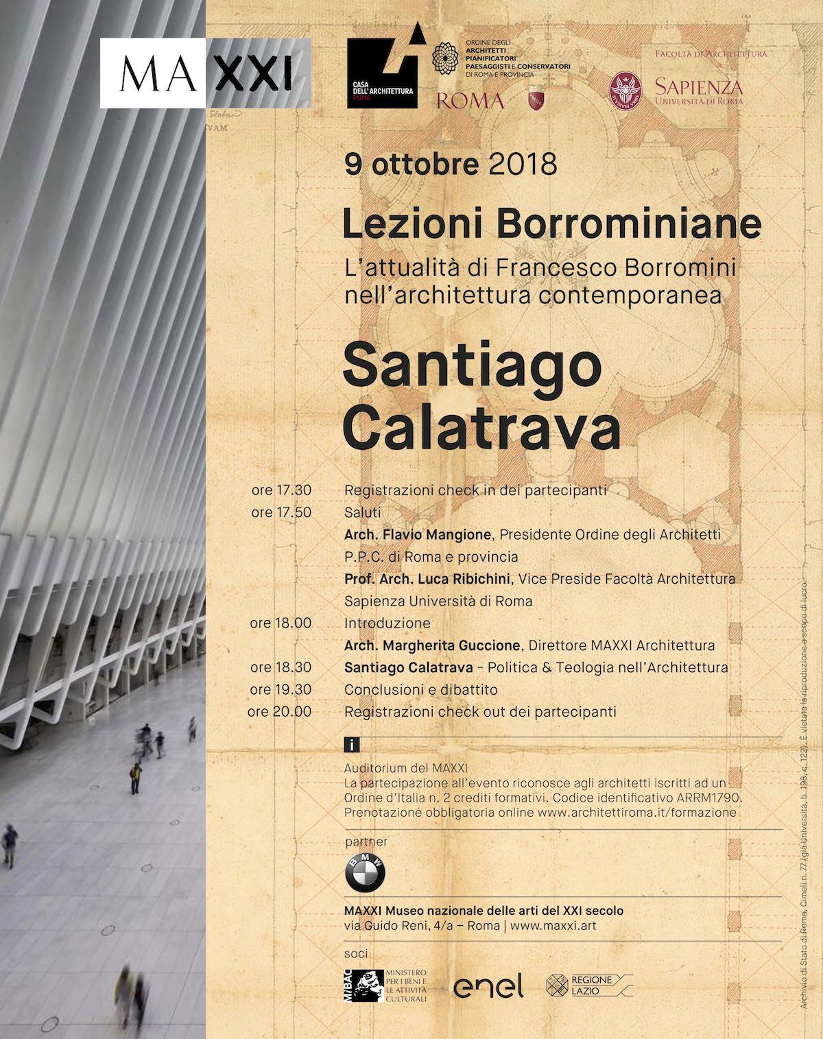 Lezioni borrominiane_Calatrava