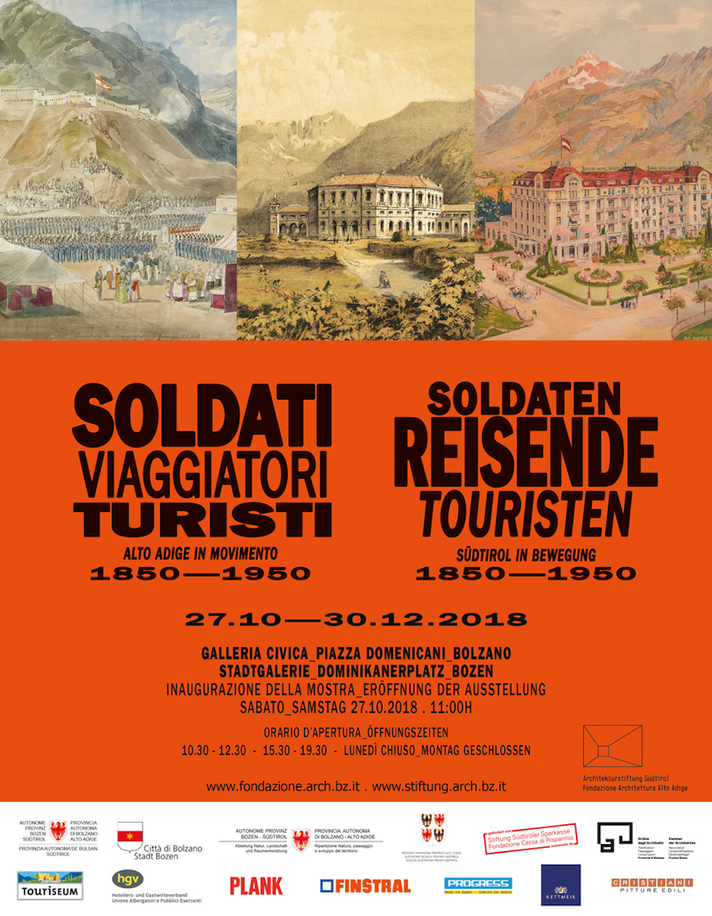 Soldati viaggiatori turisti. Alto Adige in movimento 1850-1950