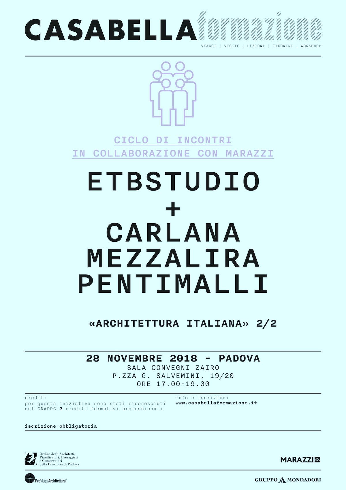 ETBstudio + Carlana Mezzalira Pentimalli