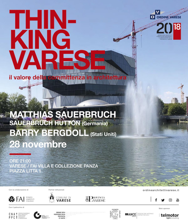incontro con Matthias Sauerbruch e Barry Bergdoll
