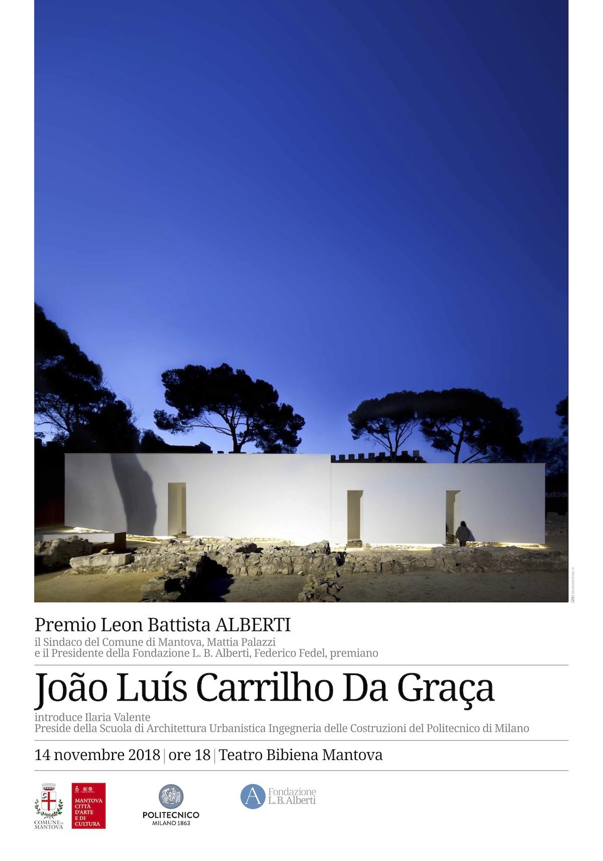 locandina Premio Leon Battista Alberti 2018