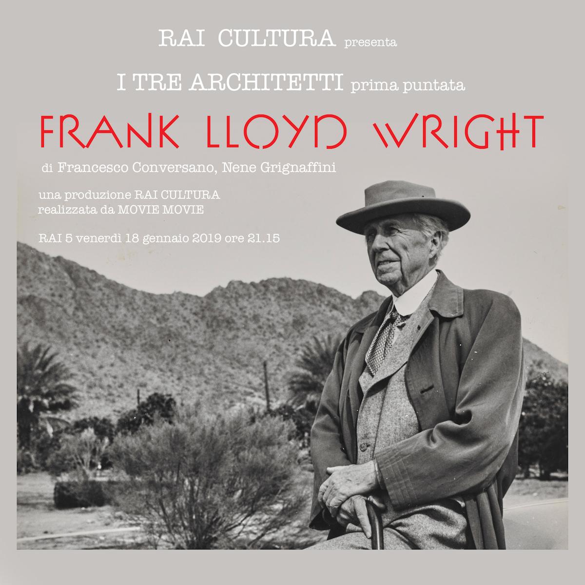 FRANK LLOYD WRIGHT_locandina