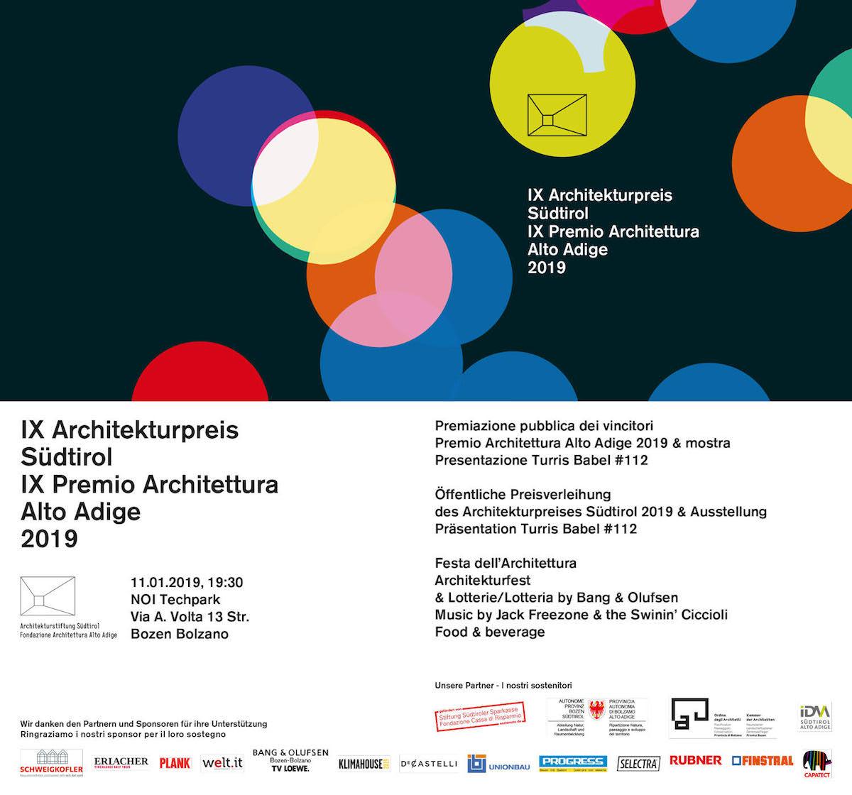 Premio Architettura Alto Adige