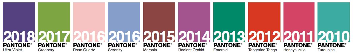 pantone 2010-18