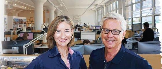 Michael Manfredi e Marion Weiss