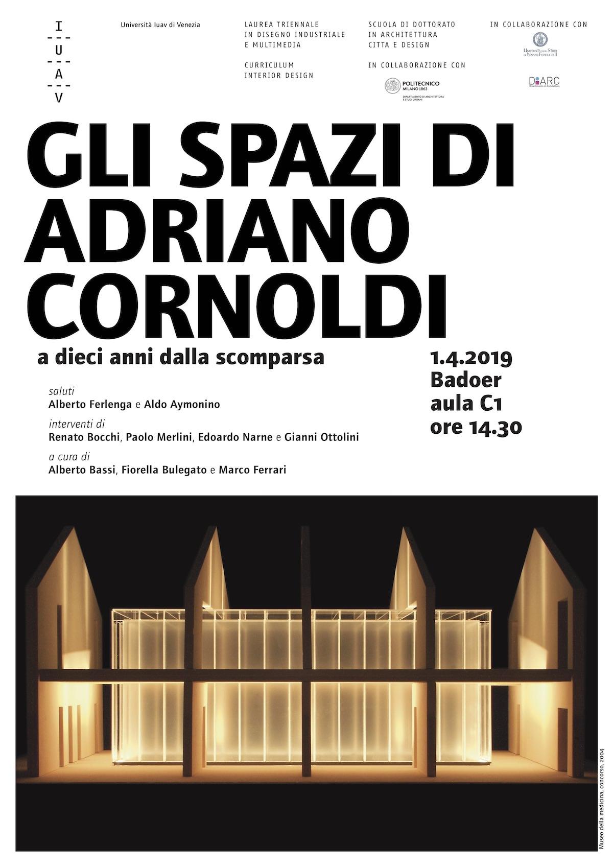Adriano Cornoldi 2019