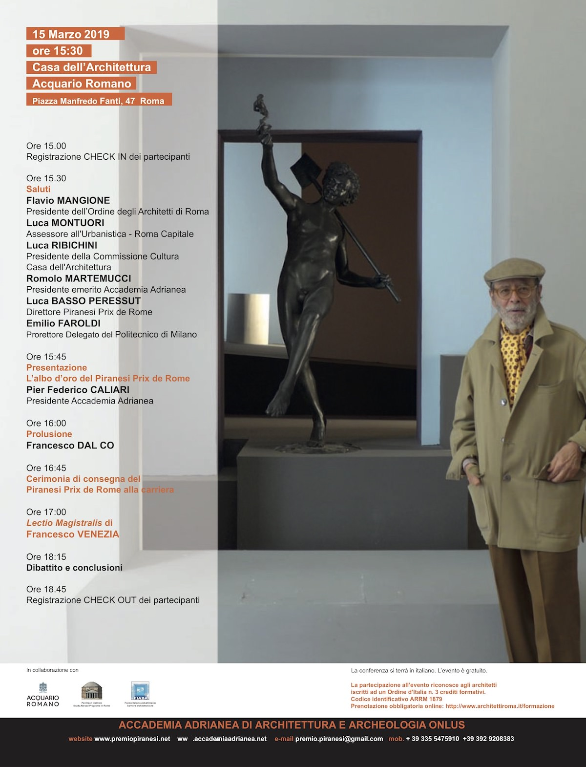 Francesco Venezia Piranesi Prix de Rome