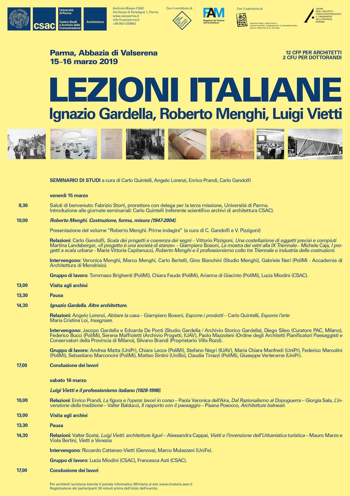 Lezioni Italiane csac