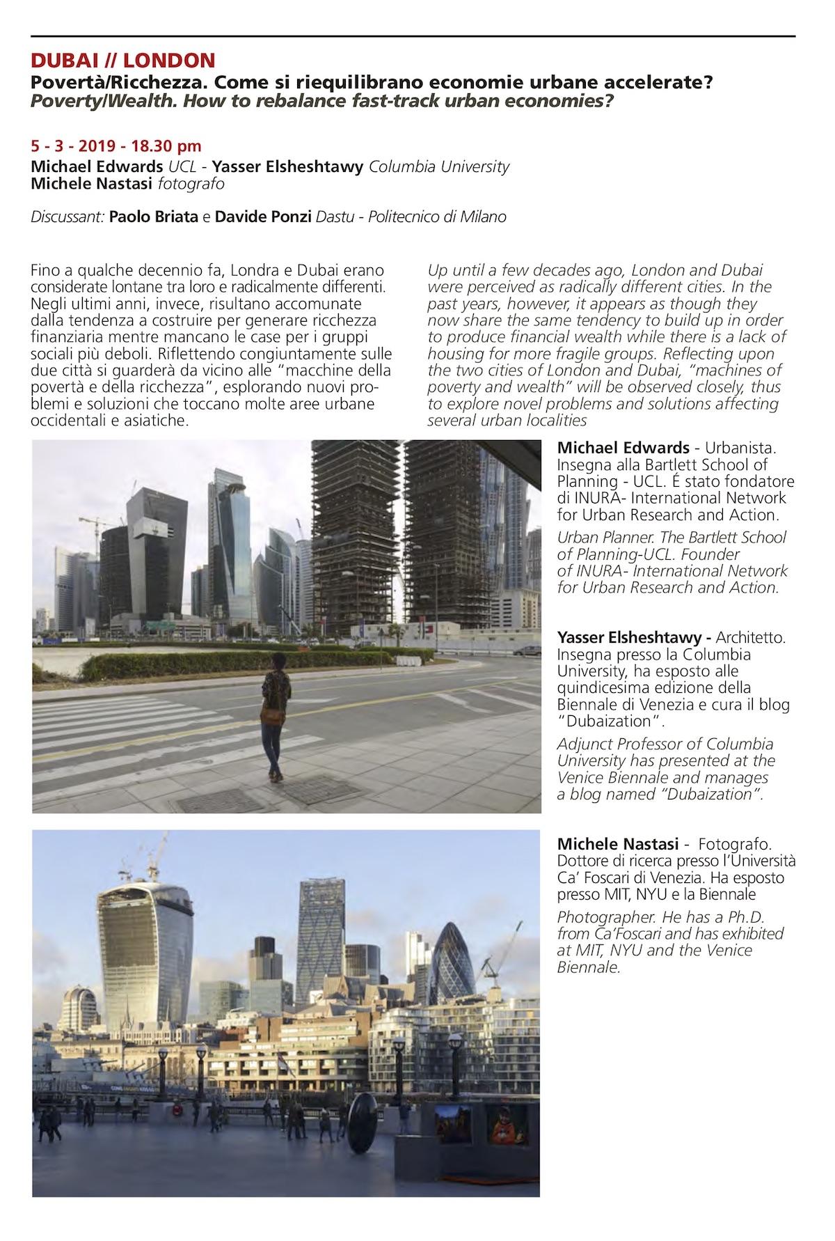 Londra e Dubai
