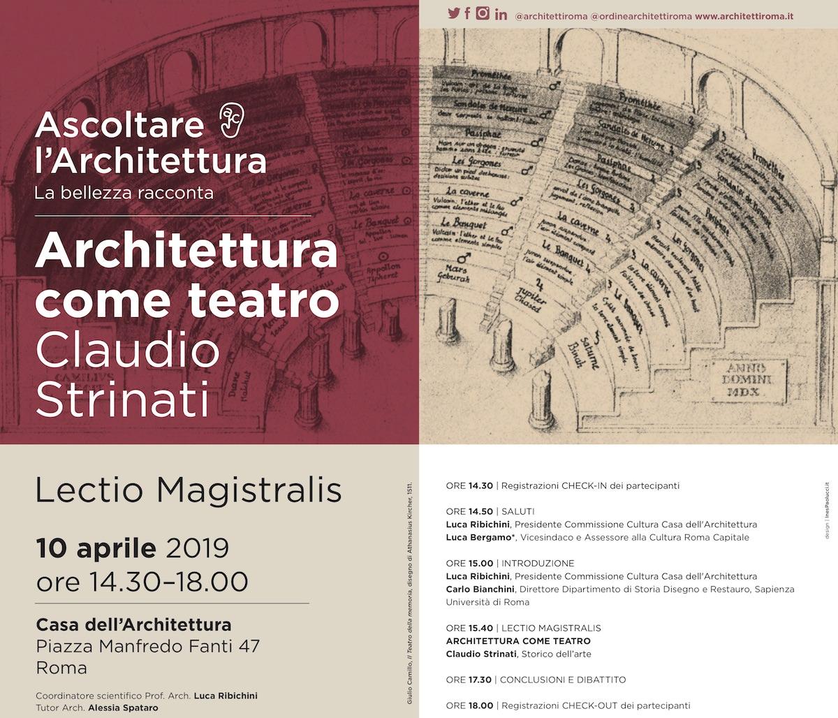 Architettura come teatro