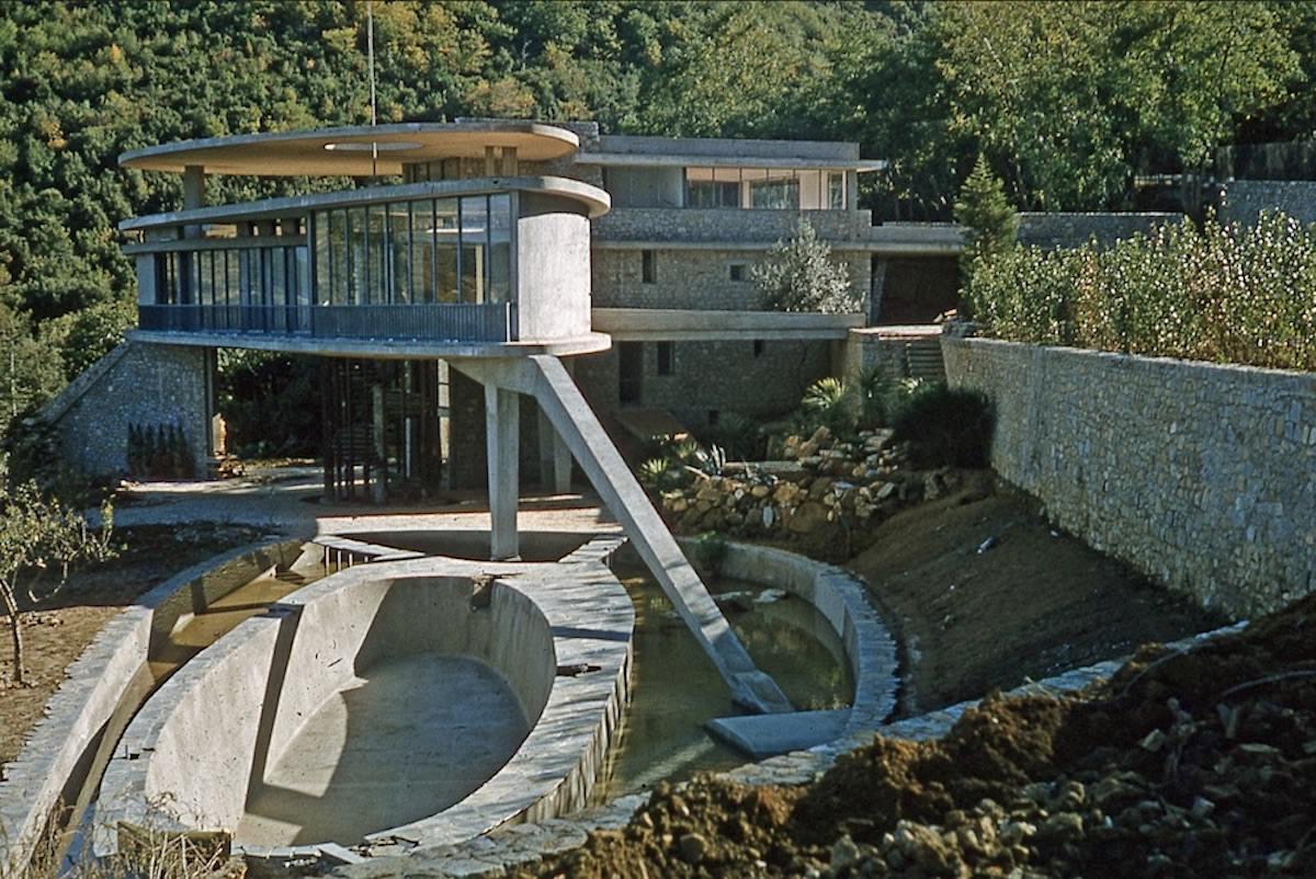 Leonardo Ricci – Casa Balmain, 1958-1960 – ph. Ricardo Scofidio