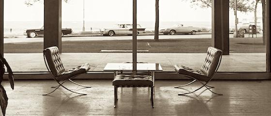 Mies van der Rohe, Lake Shore Drive Apartments in Chicago, USA. Ph. Werner Blaser hp