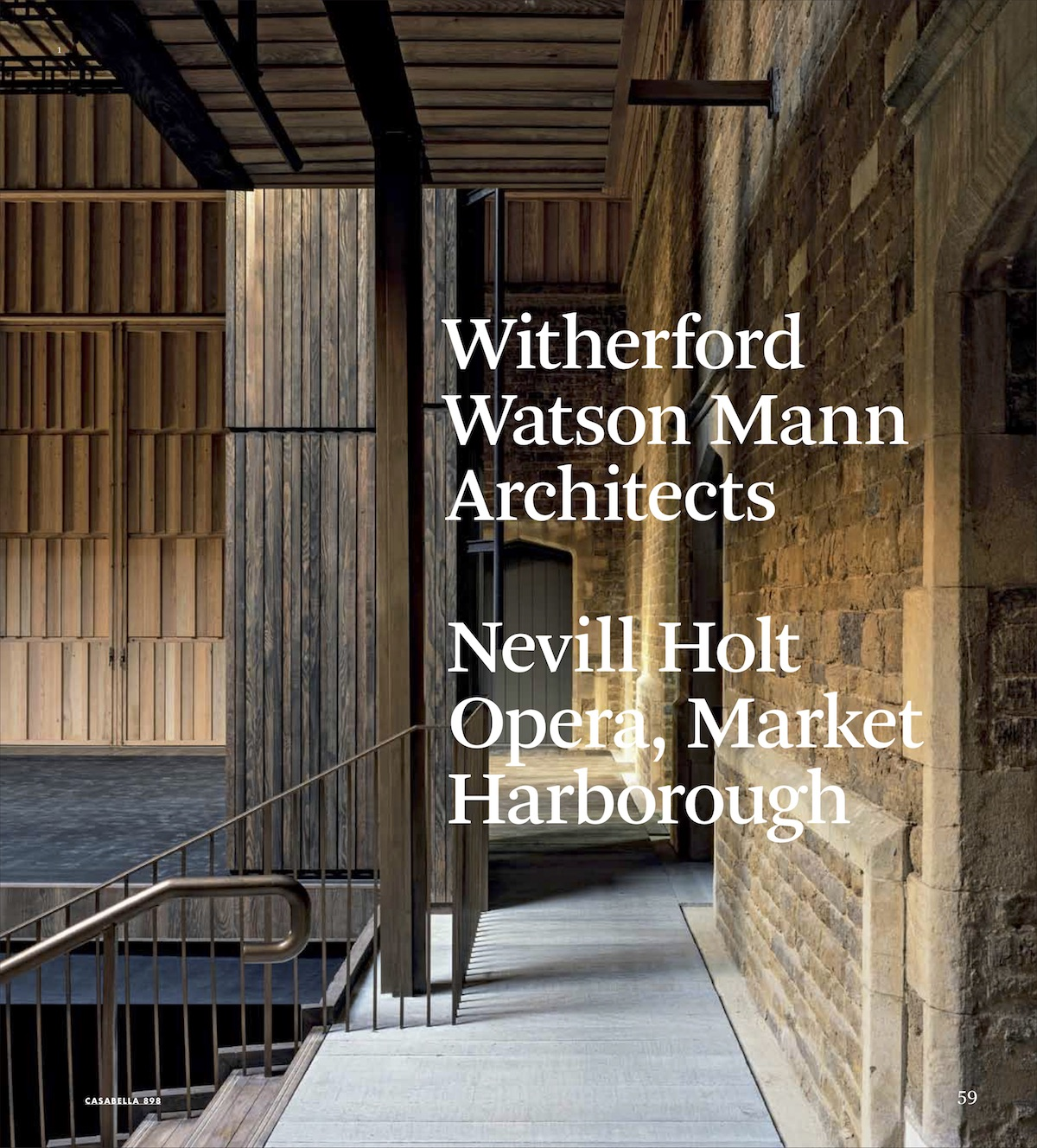 898 | WITHERFORD WATSON MANN