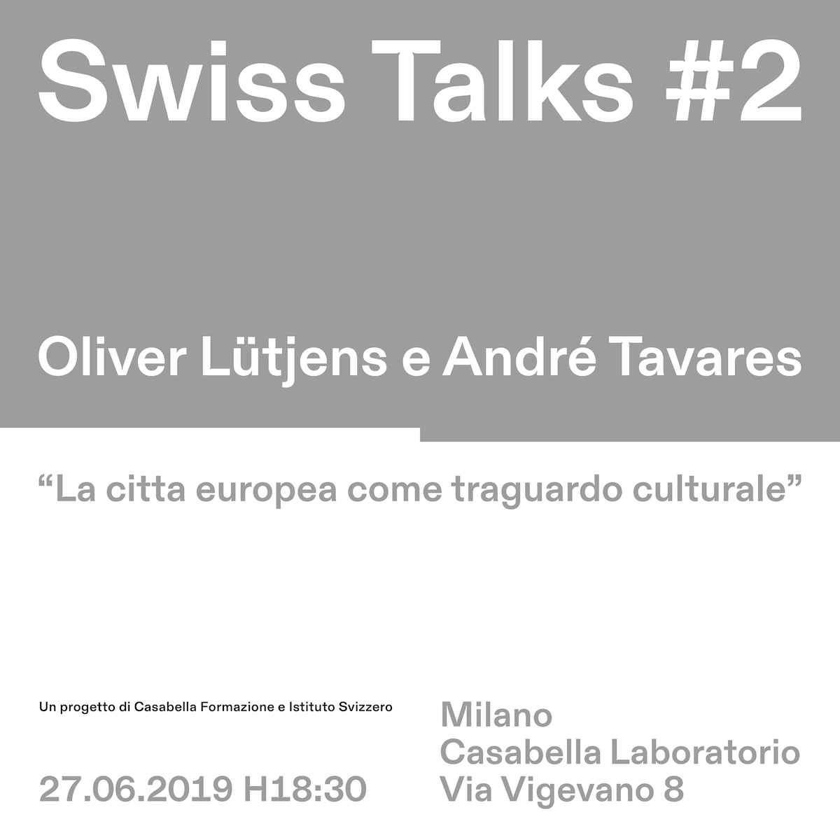 Swiss Talks #2