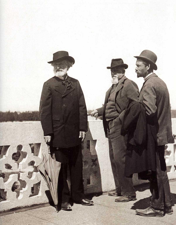 Verdi e Camillo Boito sul cantiere della Casa di Riposo di Milano, 1898-99