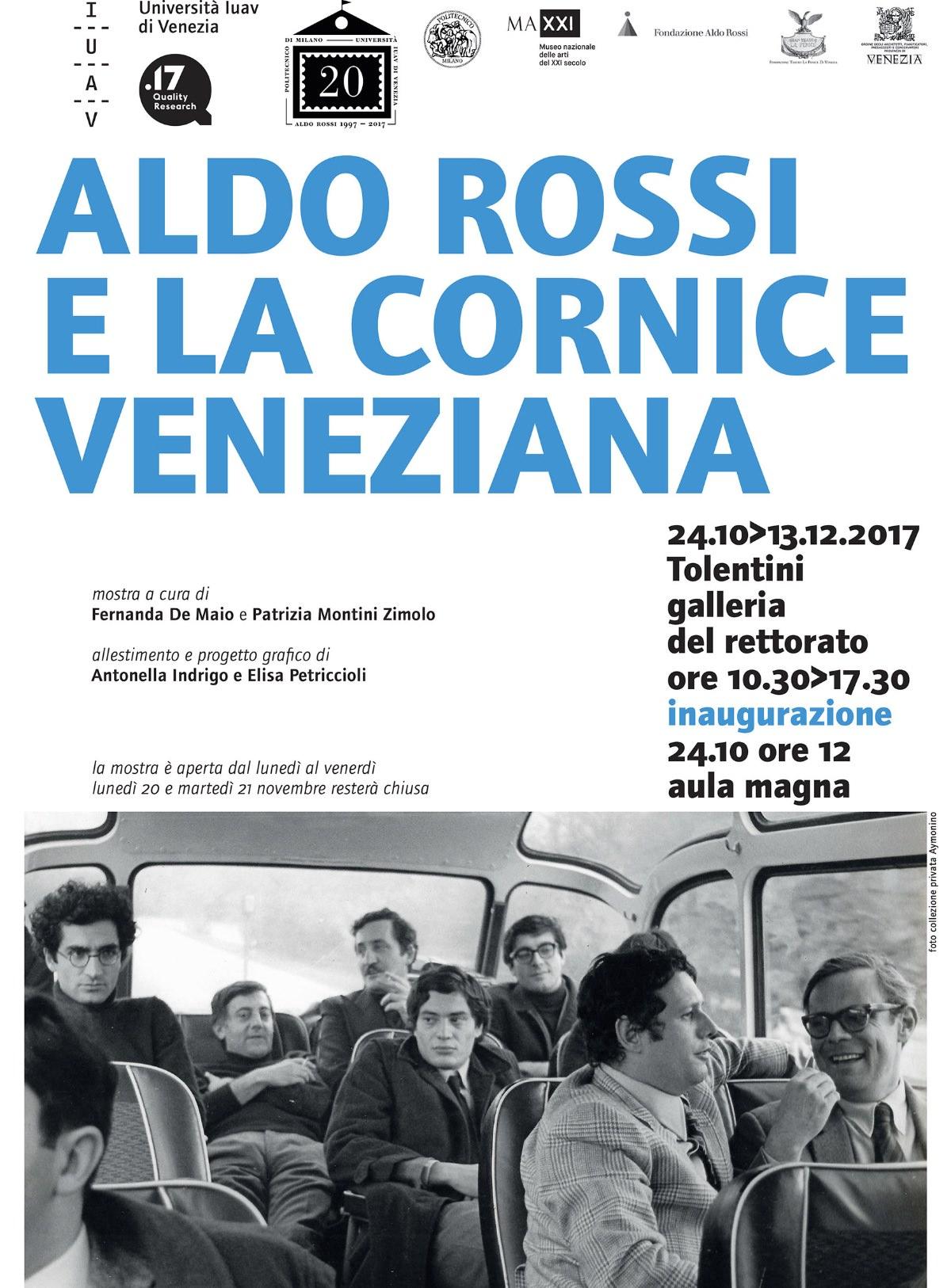 Aldo Rossi e la cornice veneziana
