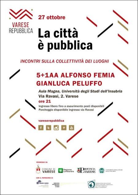 Alfonso Femia e Gianluca Peluffo Varese