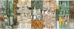 Angelo Biancini dettaglio pannello ceramico Torviscosa