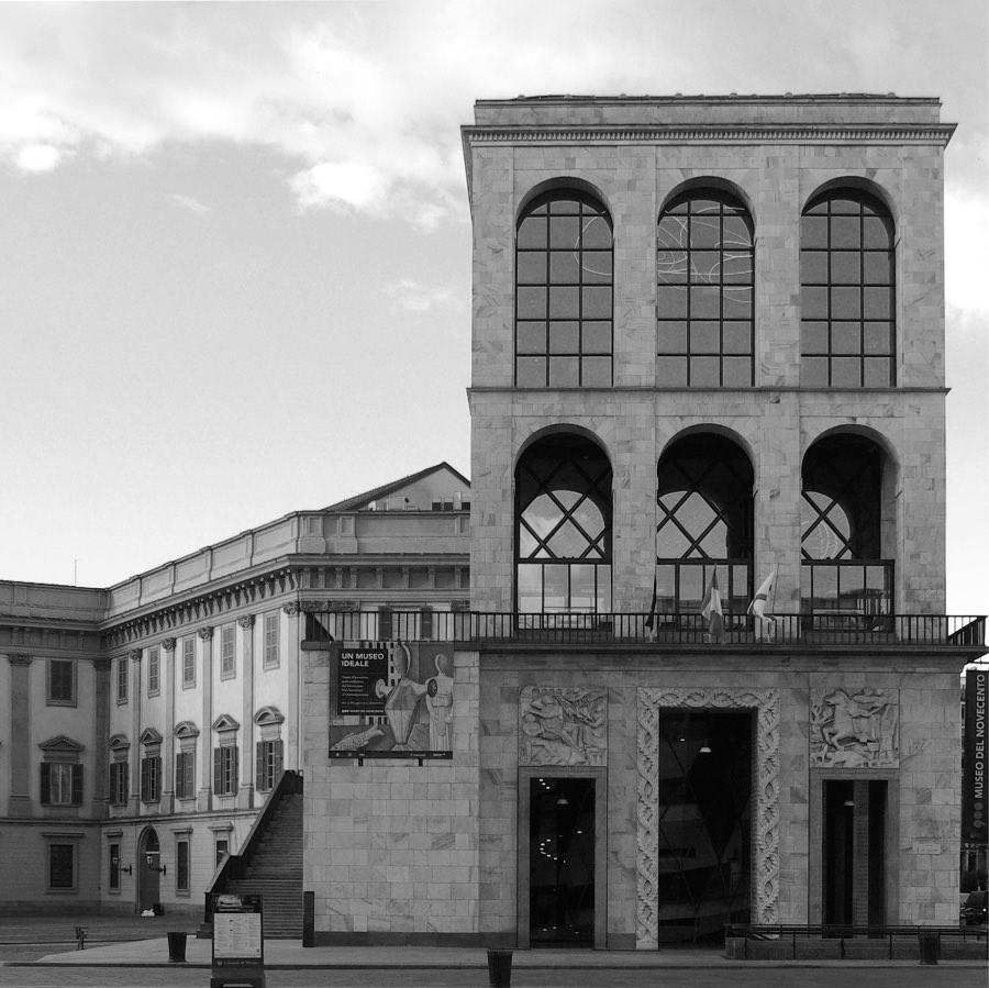 Arengario Foto T. Pedrazzini e D. Caravelli