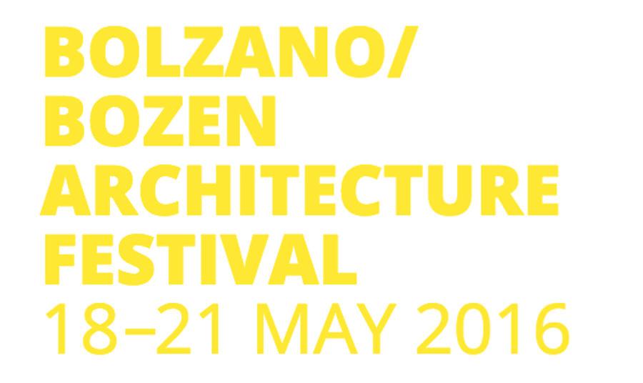 Bolzano Bozen Architecture Festival w