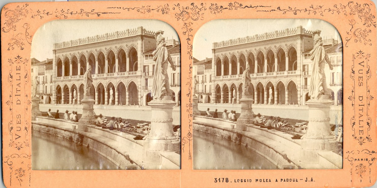 Canaletto e la visione fotografica di Prato della Valle