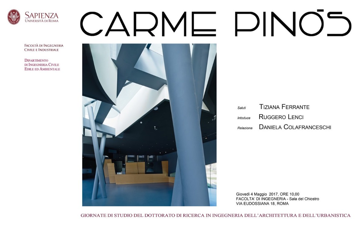 Carme Pinós Roma 2017