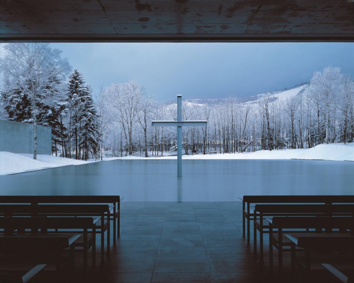 Church on the Water 1988 Yufutsu-gun, Hokkaido ph. Yoshio Shiratori