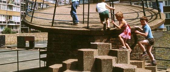 Churchill Gardens Estate, Pimlico London, 1978 © John Donat - RIBA Library Photographs Collection