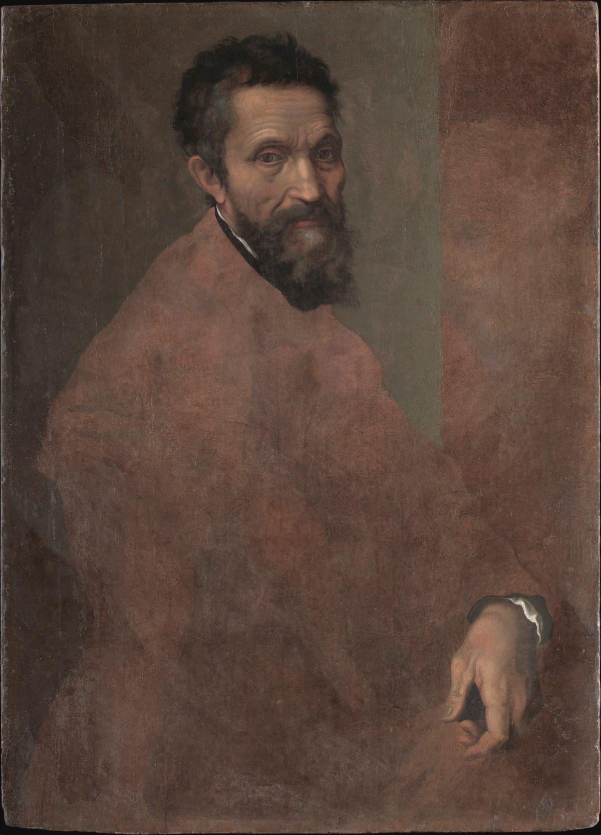 Daniele da Volterra (Daniele Ricciarelli) ritratto di Michelangelo Buonarroti 1544 ca.