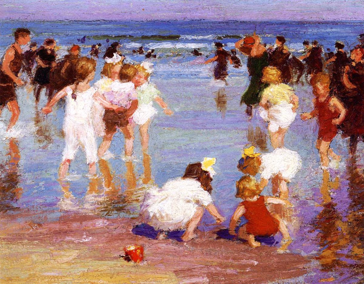 Edward Henry Potthast Happy Days imagecredits courtesy of the Art Museum of Western Virginia CC PD