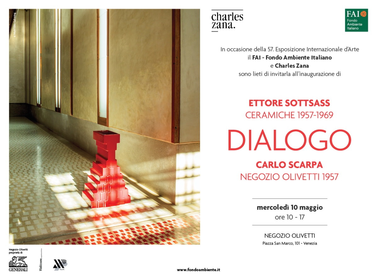 Ettore Sottsass + Carlo Scarpa