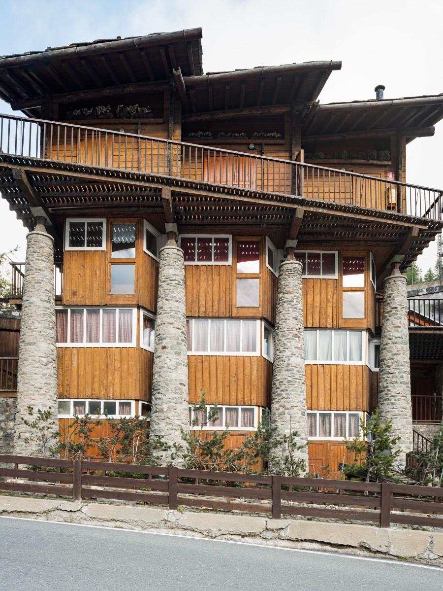 Franco Albini rifugio Pirovano Cervinia 1948 imagecredits foto Werner Feiersinger courtesy kunstmeranoarte.org