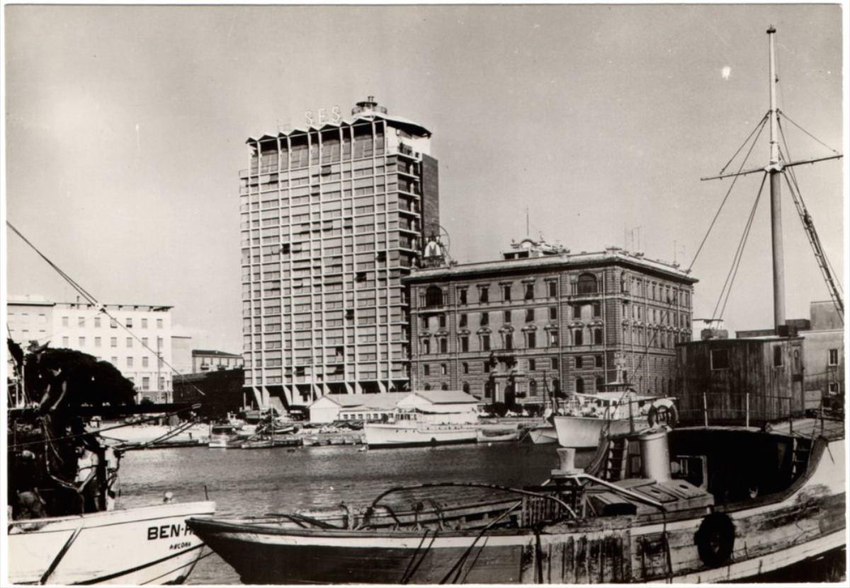 Gigi Gho' Sede della Società Elettrica Sarda (1957-1961), piazza Amendola 1, viale Cristoforo Colombo, Cagliari