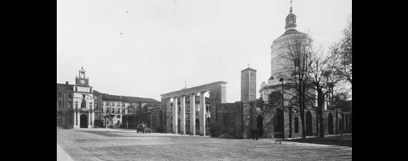 Giovanni Muzio Università Cattolica del Sacro Cuore e Monumento ai Caduti 1929 imagecredits Archivio Muzio courtesy polimi.it