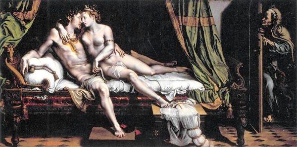 Giulio Romano, Due amanti, 1523–24, Ermitage, San Pietroburgo