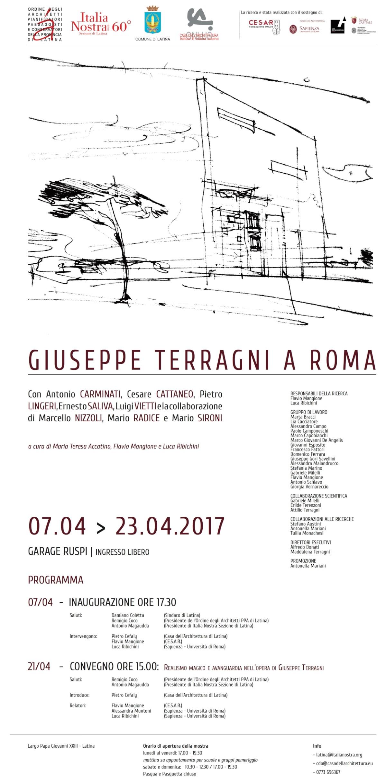 Giuseppe Terragni a Roma