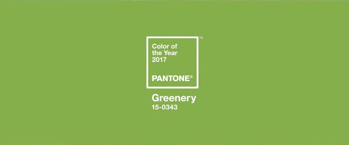 Greenery PANTONE Color of the Year 2017 imagecredits pantone.com w