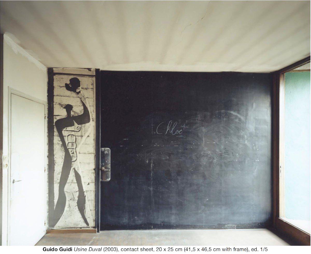 Guido Guidi Usine Duval (2003), contact sheet, 20 x 25 cm (41,5 x 46,5 cm with frame), ed. 1:5