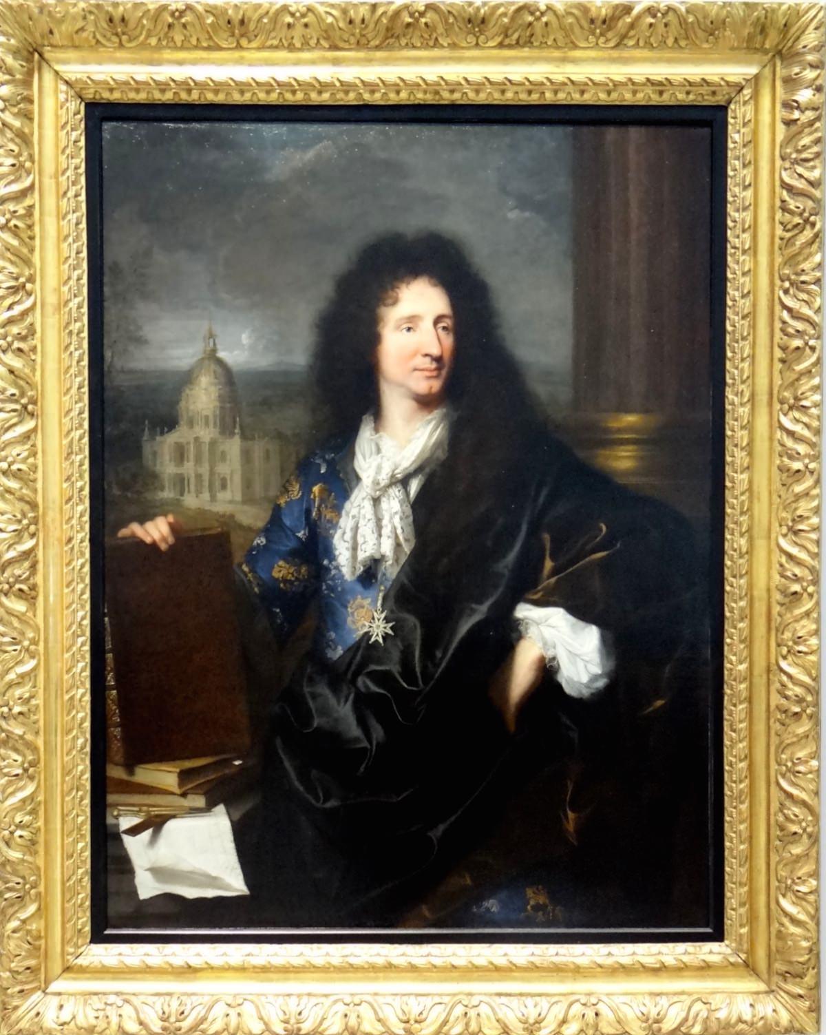 Hyacinthe Rigaud - 1685 Jules-Hardouin Mansart