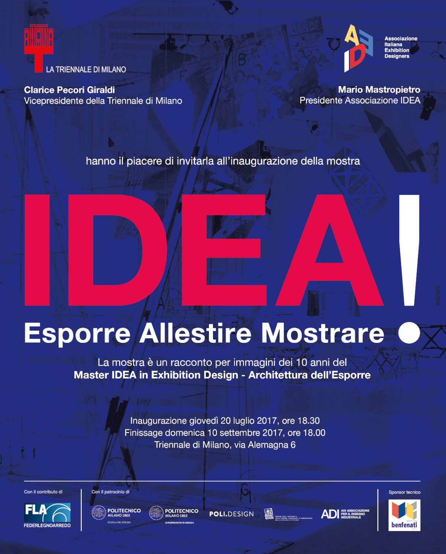 IDEA! Esporre Allestire Mostrare