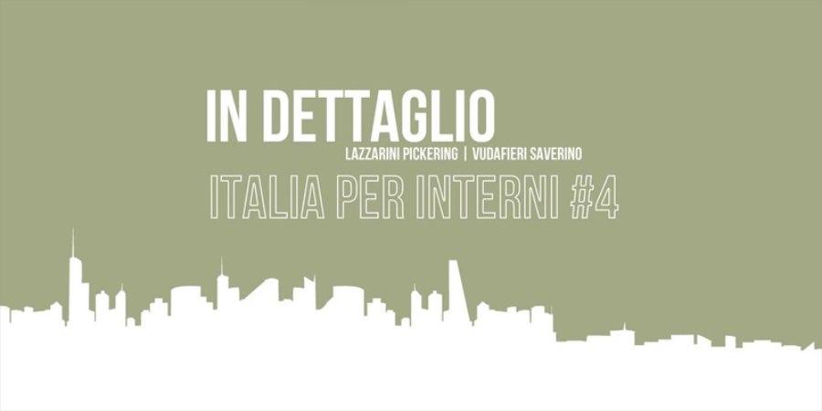 IN DETTAGLIO. Italia per Interni #4