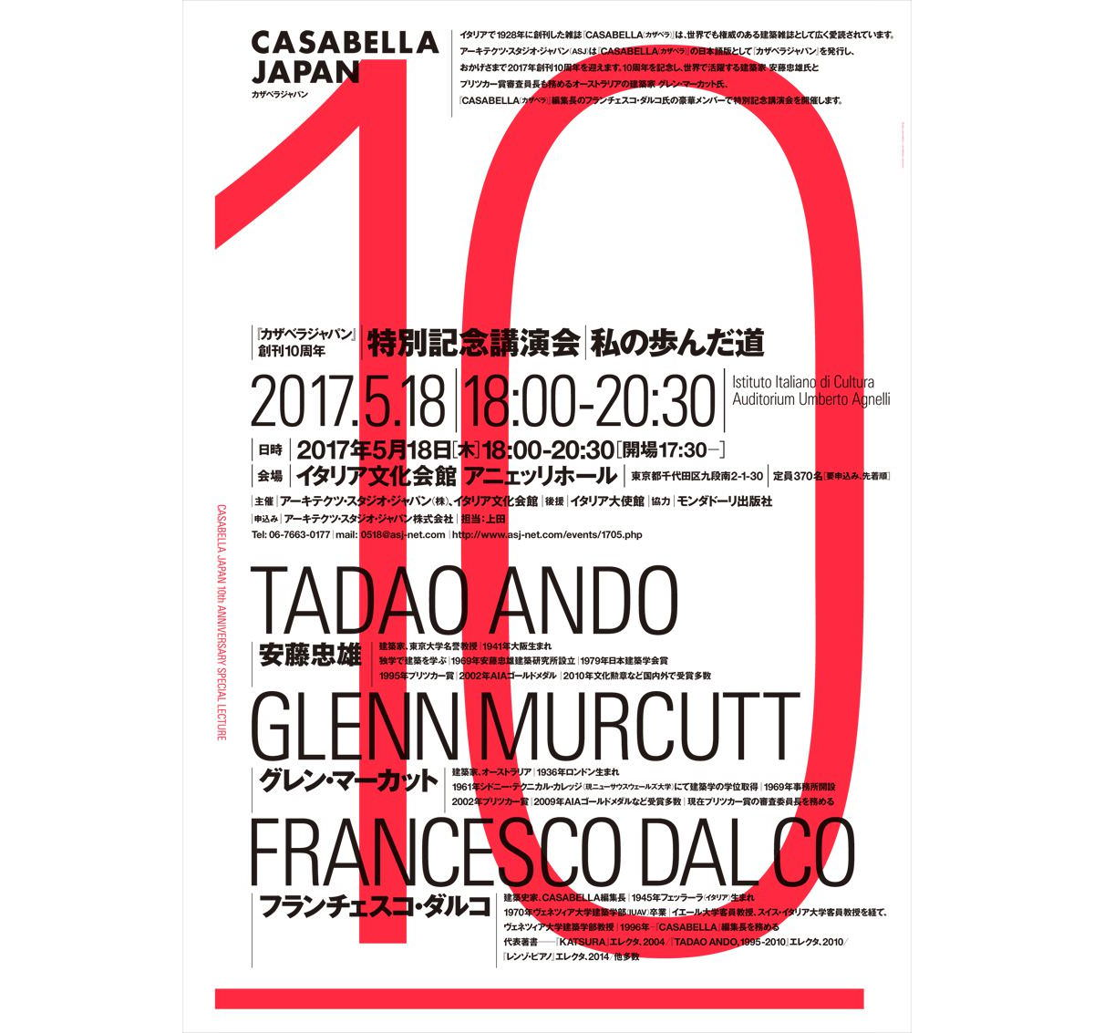 Il mio percorso di Tadao Ando e Glenn Murcutt con Francesco Dal Co